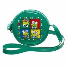 Hello Kitty Keroppi Green Vinyl Crossbody Bag Handbag - Cosplay Retro Anime