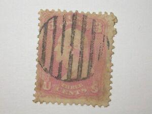 Scott # 65,64B?    Washington      pinkish rose   see note scan