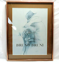 Bruno Bruni Signed/Framed/Matted Print Il Bacchio 113/150
