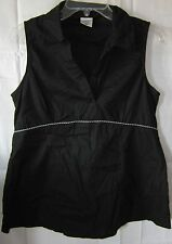 Motherhood Maternity Sleeveless Black Top Size Small