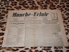 Journal MANCHE-ECLAIR, éd. du Sud de la Manche - n° 26, 29/06/1946