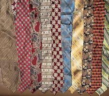 Stafford LOT of 10 Men Neckties 100 % Silk (LOT 2339)
