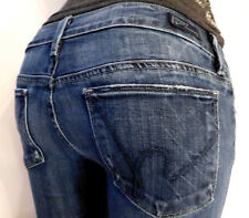 CITIZENS OF HUMANITY WOMENS W27 CAPRI/CROPPED DENIM BLUE JEANS