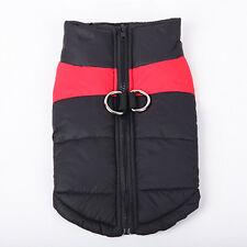 Comfy Soft Dog Jacket Padded Waterproof Pet Clothes Warm Vest Coat Winter