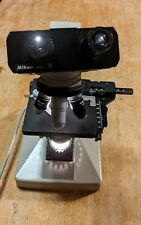 Nikon Alphaphot Ys Microscope With 4 Objectives Tested Works