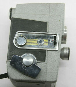 Revere Eye-Matic Magazine 8 8mm Movie Camera - Untested - VINTAGE J19
