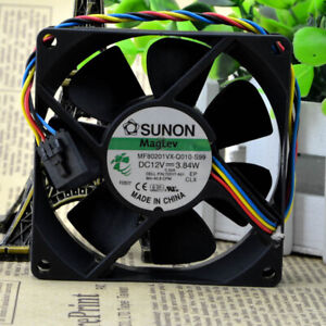 SUNON MF80201VX-Q010-S99 Cooling Fan 12V 3.84W 4wire 5pin Cooler Fans for DELL