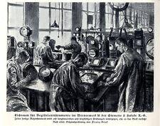 Franz Graf Wernerwerk Siemens & Halske Berlin Montagesaal Eichraum Spitze...1924