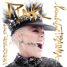 P!NK (PINK) Beautiful Trauma 2019 Tour Iron On Transfer 12.5x12.5cms for WHITES