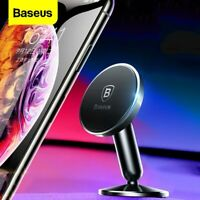 Baseus 360° Rotating Magnetic Phone Holder Car Mount Stand for Universal iPhone