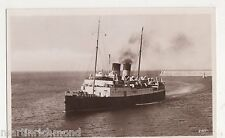 RMS Isle of Jersey Shipping RP Postcard, B544