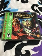 The Legend of Dragoon [Greatest Hits] (Sony PS1, 2001) TESTED, WORKS, COMPLETE