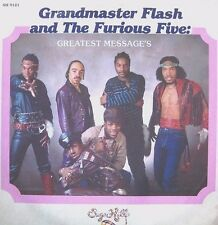 Grandmaster Flash and the furious five - Greatest Messages  vinyl LP record  (RE