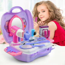 Pretend Play Cosmetic Makeup Toy Set Kit for Little Girls Kids 21Pcs Beauty Toys
