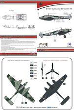 Hibou 1/48 Messerschmitt Bf-110E S9+GH SKG 210 nachtbomber # S4862