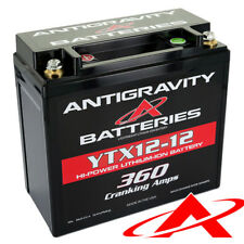 Antigravity Light Weight YTX12-12 360CCA Lithium Battery Right Negative Termina