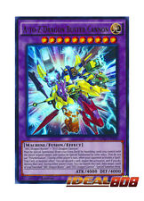 YUGIOH x 3 A-to-Z-Dragon Buster Cannon - SDKS-EN040 - Ultra Rare - 1st Edition N