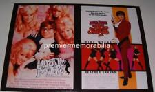 AUSTIN POWERS THE SPY WHO SHAGGED ME & INTERNATIONAL MAN OF MYSTERY POSTER PHOTO