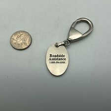 Acura Roadside Assistance Advertising Silver Tone FOB Keychain   K6