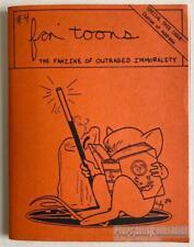 FAN'TOONS #4 mini-comic TARAL WAYNE John Howard HEATH Foster GILLILAND 1985 2nd
