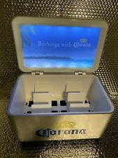 Rare Corona Beer Cooler Advertising Electric Usb Cell Phone Charging Station