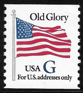 "U.S. Scott #2890  32c Blue ""G"" Coil Stamp MNH OG XF-SUPERB!!"