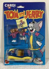 Corgi Mattel Tom And Jerry Movie Car And Tom The Mouse Figure 1993