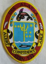PUS265 - US NAVY USS ALASKA SSBN 732 PATCH SOUS-MARIN NUCLEAIRE