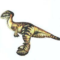Jurassic Park dinosaur plush soft toy Velociraptor Vintage 1992 1990s Large Big