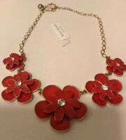Kate Spade Beautiful Blossums Statement Retired Necklace