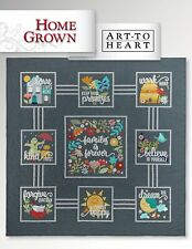 Home Grown Quilt Book by Art to Heart #553B by Nancy Halvorsen