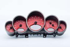 PORSCHE 911 Carrera 997 RED GAUGE CLUSTER INSTRUMENT TYPE UK GB 99764110833D07