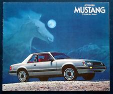 Prospekt brochure 1979 Ford Mustang (Estados Unidos)