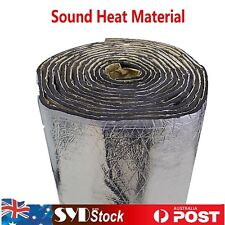 Sound Insulation Heat Shield Noise Thermal Proof Auto Vehicle Ute Sedan100x60cm