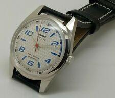 Hmt Pilot Hand Winding Men's Steel 17 Jewels Patrashock Vintage India Watch