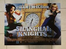 Shanghai Knights movie poster - Jackie Chan, Owen Wilson - 30 x 40