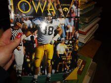 November 6, 1993 Iowa vs. Northern Illinois Football Program