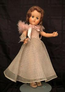 Beautiful 1940s Vintage Composition Doll w/ Original Clothes