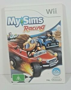 My Sims Racing | Wii Nintendo Game | Complete With Manual | Free Tracked Post AU