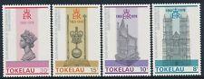 1978 TOKELAU QEII CORONATION 25th ANNIVERSARY SET OF 4 FINE MINT MNH