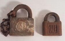 VINTAGE YALE PADLOCKS