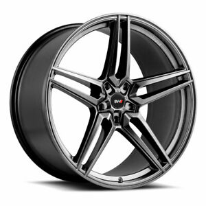 "22"" SAVINI SV-F3 GRAPHITE CONCAVE FORGED WHEELS RIMS FITS DODGE DURANGO"