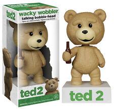 FUNKO TED 2 TALKING WACKY WOBBLER BOBBLE HEAD BRAND NEW