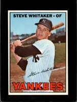 1967 TOPPS #277 STEVE WHITAKER EXMT RC ROOKIE YANKEES  *XR11098