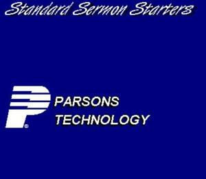 Standard Sermon Starters PC CD Bible scripture topics outlines collection & more