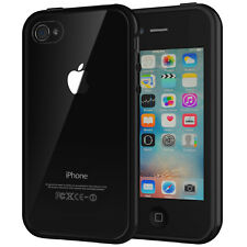JETech Case for iPhone 4s and iPhone 4 Shock-Absorption Bumper Case Cover