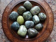 SERPENTINE 1/4 Lb Gemstone Specimens Tumbled Wiccan Metaphysical