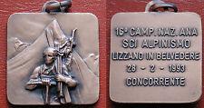 MEDAGLIA ANA 16 CAMPIONATO NAZIONALE SCI ALPINISMO LIZZANO BELVEDERE CONCORRENTE