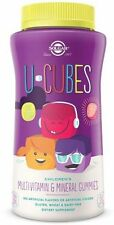 U-Cubes Children's Multi-Vitamin & Mineral Gummies, Solgar, 60 count