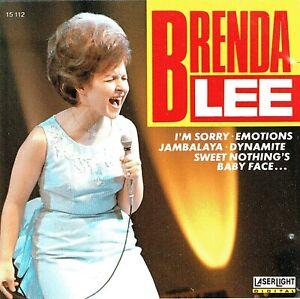 (CD) Brenda Lee - Dynamite, Sweet Nothings, Baby Face, I'm Sorry, Jambalaya,u.a.